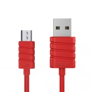 iWalk Twister, cablu micro-USB la USB, 1m, Red