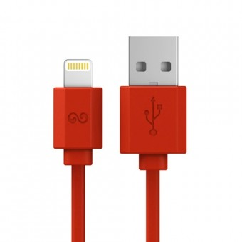 iWalk Trione i5, cablu lightning la USB, 2m, Red