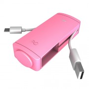 iWalk Charge it+, 2600mAh, Apple, Pink
