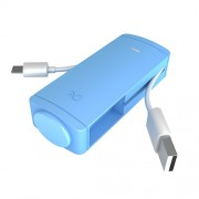 iWalk Charge it+, 2600mAh, Smartphone, Blue