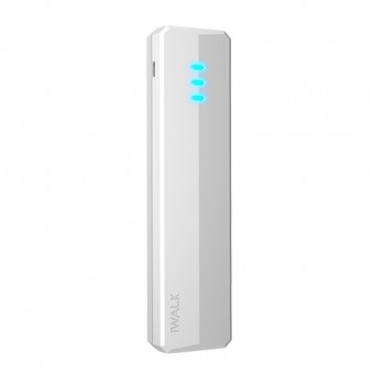 iWalk Supreme 10400Duo, 10400mAh, 2x USB, White