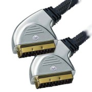HT CABLU SCART - SCART GOLD 0.75M