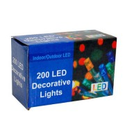 INSTALATIE BRAD 200 LED-URI MULTICOLORE