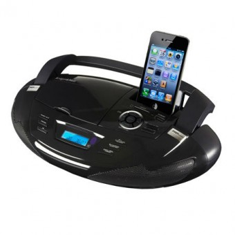 RADIO CD PLAYER PORTABIL USB/SD/IPOD/IPHONE