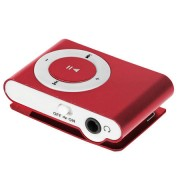 MP3 PLAYER ROSU QUER