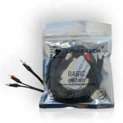 CABLU 3.5 STEREO-2RCA 3M BASIC EDITION