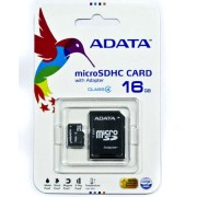 MICRO SD CARD 16GB CLASS 4 CU ADAPTOR ADATA