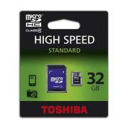 MICRO SD CARD 32GB CU ADAPTOR TOSHIBA